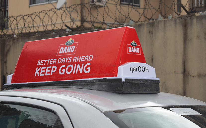 Alpha and Jam Launches Taxi-top (quarOOH)